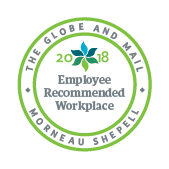 Back in Motion Rehab Inc. recognized as 2018 Globe And Mail & Morneau Shepell 2018 Recommended Workplace Award